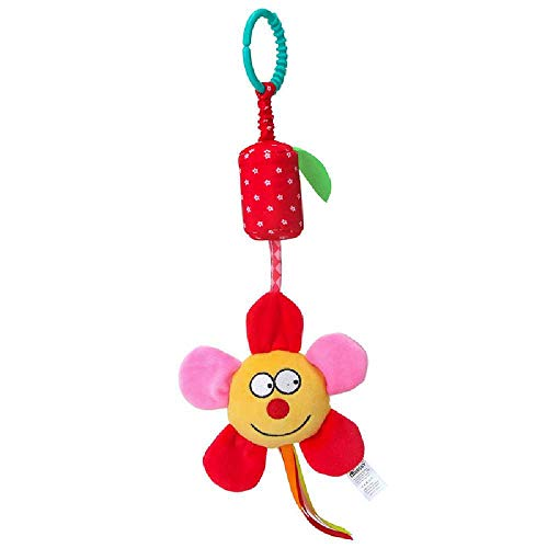 Happy Cherry Flor de sol Juguetes Espiral Colgantes Peluche Animales para Cuna Cochecito beb/és ni/ños con sonidos