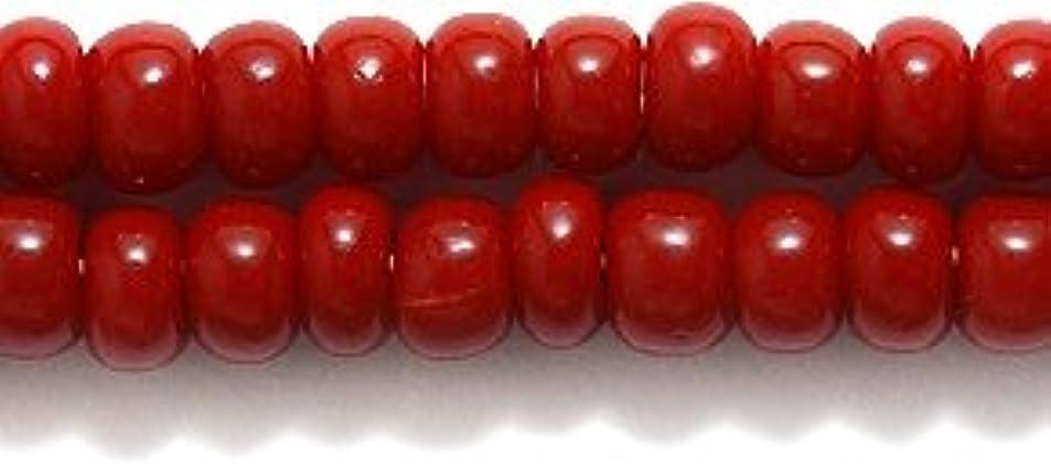 Preciosa Ornela 6SB148 Czech Seed Bead, Opaque Brick Red Mahogany fwktbdey0110