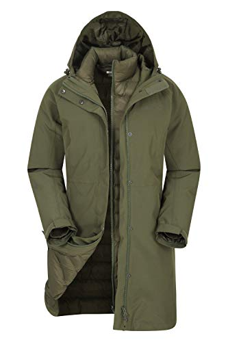 Mountain Warehouse Chaqueta Larga de Invierno 3 en 1 para Mu