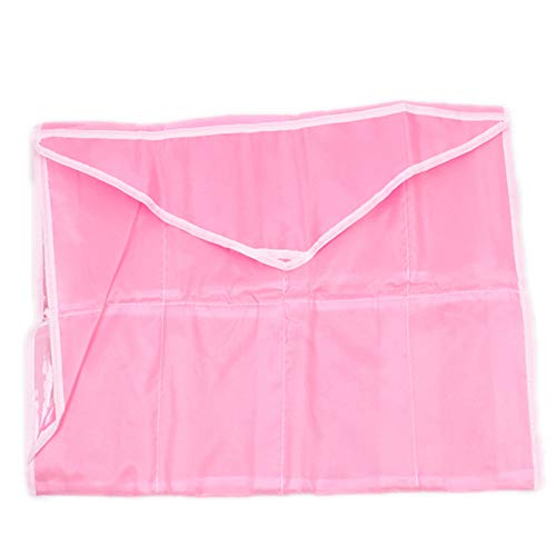 Sanmeiyang - Bolsa de almacenamiento para ropa interior y calcetines, para colgar sobre la puerta, para el hogar, armario, dormitorio, color rosa