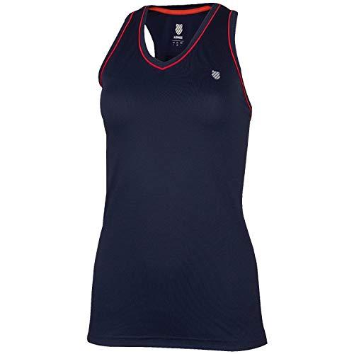 K-Swiss KS TAC Heritage Sport Camiseta de Tenis, Mujer,...