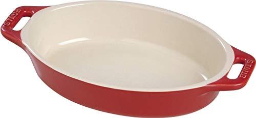 Staub Ceramic 9-inch Oval Baking Dish - Cherry