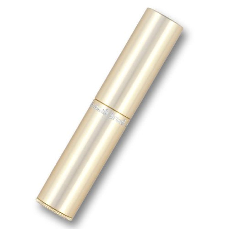 付き添い人きらきらパス携帯歯ブラシ?タベタラmigaCO(シャンパンゴールド)