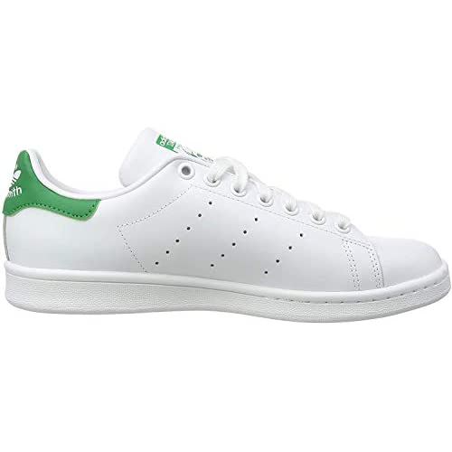 adidas Stan Smith, Sneaker Mens, Bianco Ftwwht Ftwwht Green, 41 1/3 EU