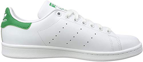 adidas Originals Stan Smith M20324, Unisex-Erwachsene Basketballschuhe, Weiß (Running White/Running White/Fairway), 41 1/3 EU