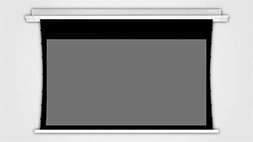Release Pantalla de proyector tensada con lengüeta motorizada ALR/CLR de 100 '' 16: 9 en el Techo para proyectores de Tiro Corto/Medio/Largo (Size : 106 Inch)