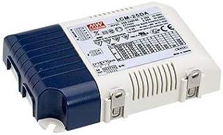 Mean Well LCM-25 AC-DC - Amplificador de potencia (controlador LED, Active PFC)