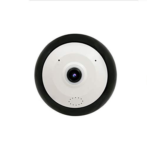 Dingziyue WiFi 360 ° panorama Home Security Camera met 5.0MP Fish eye-lens, No Blind Spot, Two-Way Audio & Night Vision
