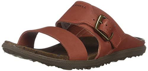 Merrell Women's Around Town Luxe Bckl Slide Sandal