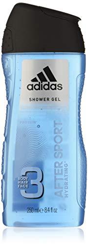 Adidas gel douche after sport 250ml - Lot de 2