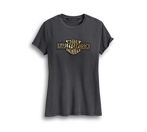 Harley Davidson® Women's Flocked Logo Tee