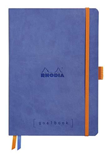 Rhodia Goalbook Journal, A5, Squared - Sapphire Blue