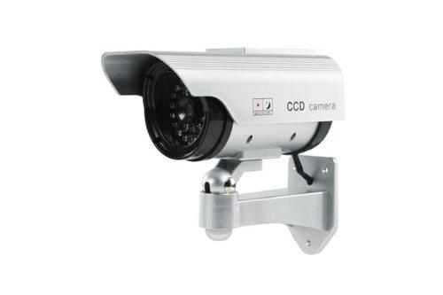 Konig SEC-DUMMYCAM35 Camera factice d'exterieur avec Panneau Solaire