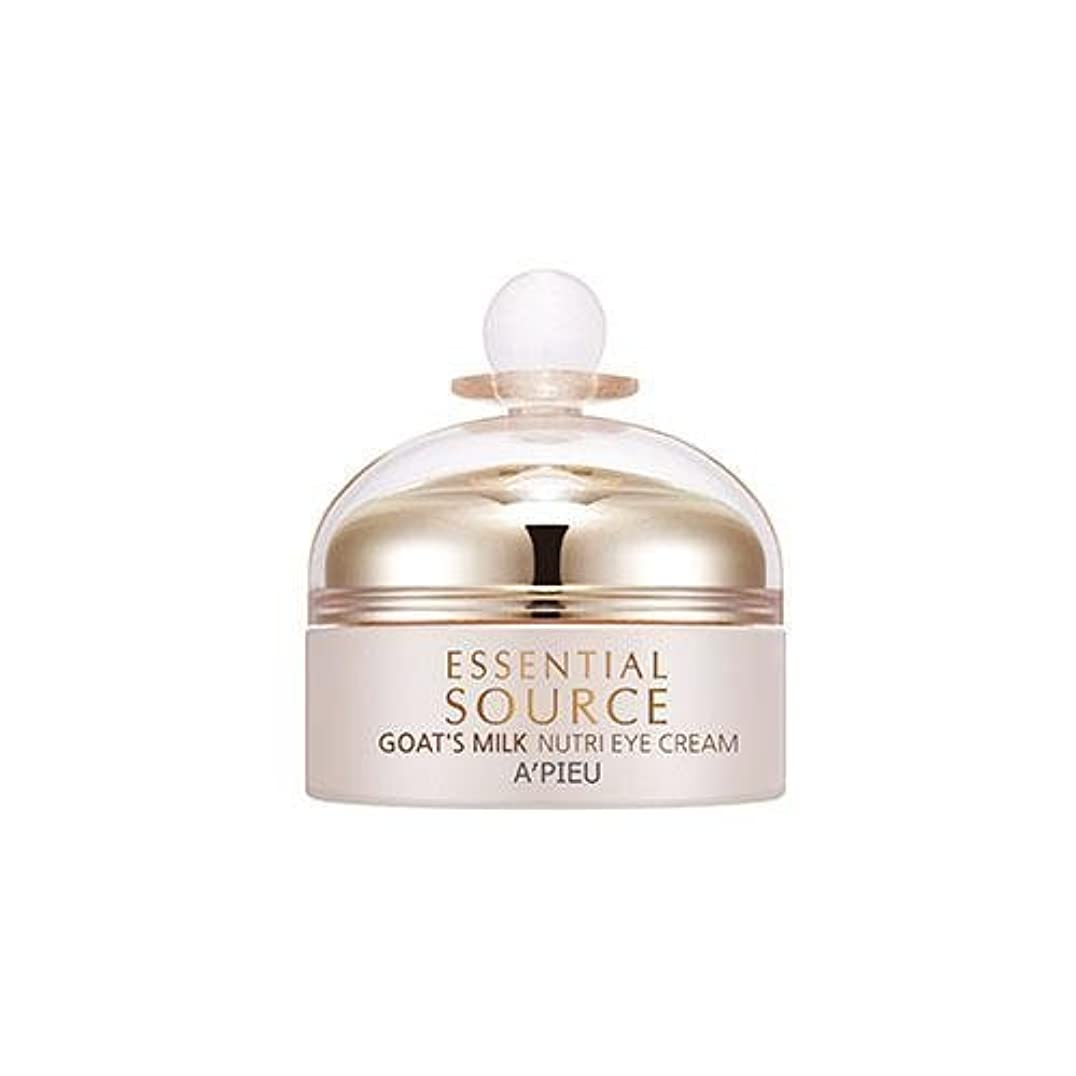 菊塩辛いスリンクAPIEU Essential Source Goat's Milk Nutri Eye Cream [Korean Import]