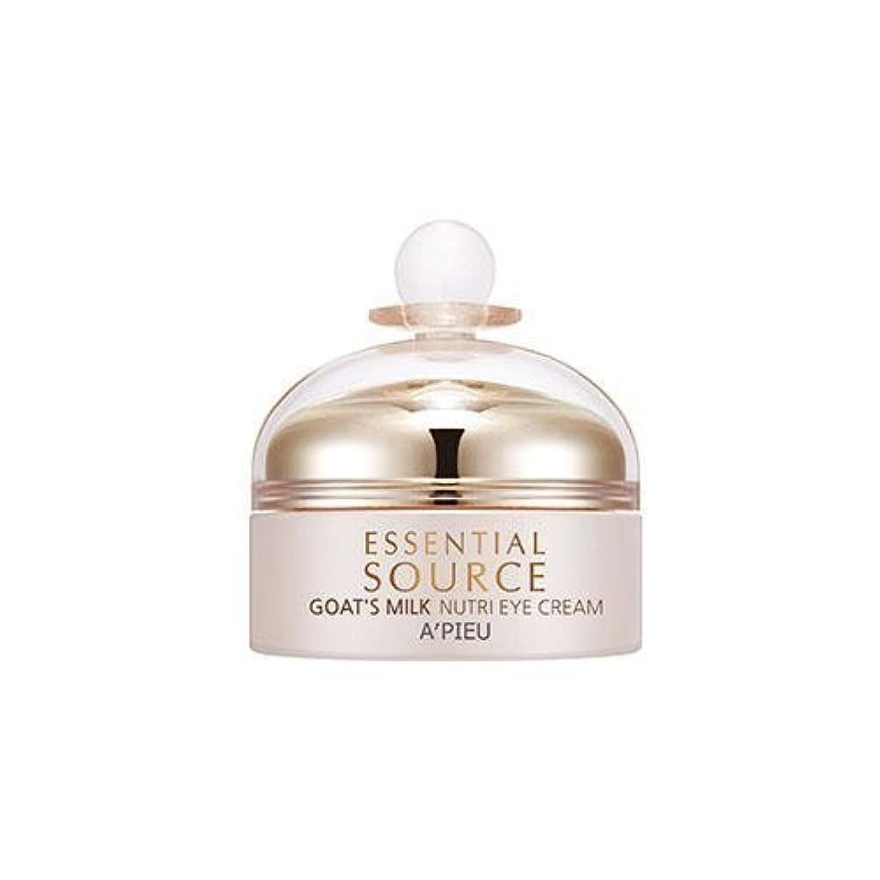 マークダウン眠り後退するAPIEU Essential Source Goat's Milk Nutri Eye Cream [Korean Import]