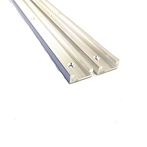 caihv-Carril de Deslizamiento 1 unids Tabla Invertida Tabla de carpintería Chute 6061 Aleación de Aluminio, 30 Tipo Carpintería Chute Pasado Rail Track Sierra Circular