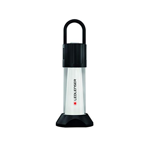 Ledlenser Led Lenser Zweibrüder Ledlenser ML6 LED Outdoor Laterne, sehr helle 750 Lumen, 70 Stunden Laufzeit, wiederaufladbar, Powerbank, blendfreies Licht, inkl. Akku 500929, Schwarz, Einheitsgröße