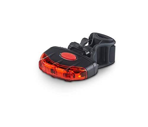 DANSI LED-Fahrradleuchtenset, umschaltbar 60/30/15 Lux, Stoßfest und Regenfest, schwarz - 3