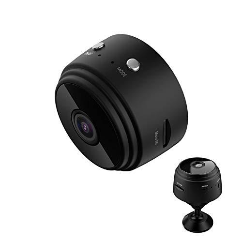 Mini Telecamera Wireless 1080p HD, Webcam per videoconferenze per Ufficio remoto, Telecamera Spia Nascosta WiFi IP, DVR per la Sicurezza Domestica, Telecamera per bambinaia di Sicurezza per Anziani