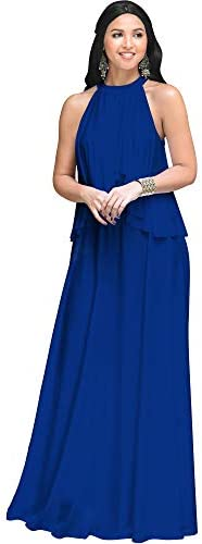 Royal blue wedding gowns _image4