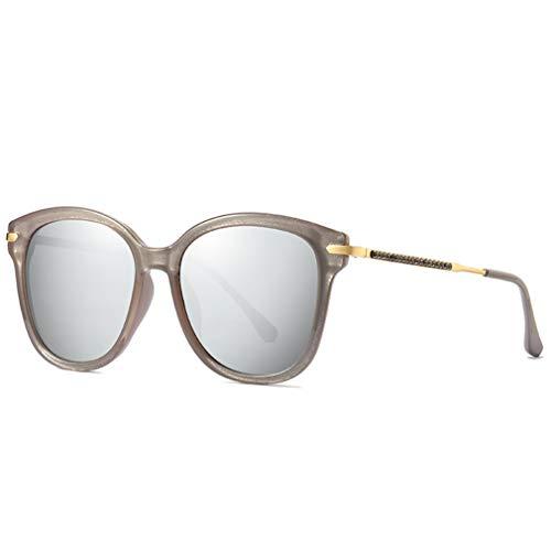 VBNM sportzonnebril voor dames, gepolariseerde HD-zonnebril, trendy diamantdesign, UV400-bescherming, onbreekbare glazen, onbreekbare fitting