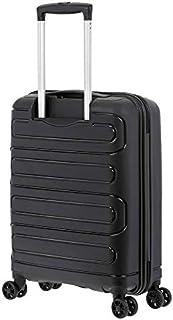 American Tourister Sunside Hardside Spinner Suitcase, 55 Centimeter, Black