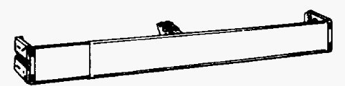 "18""–28"" Longitud ajustable con 21/2Barra de cortina de ""de diámetro Continental de Kirsch"