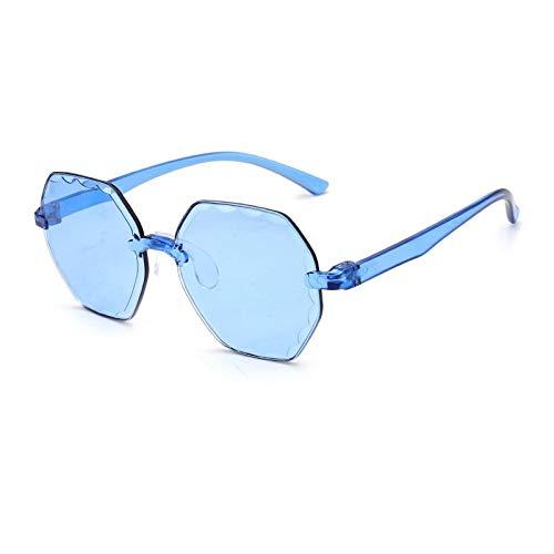 Gafas De Sol Polygon Gafas De Sol para Mujeres Hombres Vintage Shades Diseñador De LujoRetro Trendy Gafas Gradient Eyewear 2