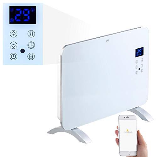 Sichler Haushaltsgeräte Heizkörper: Konvektor-Heizung mit App, für Amazon Alexa & Google Assistant, 1000 W (Heizkonvektor)