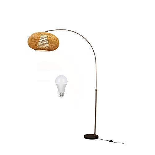 rotan staande lamp ikea