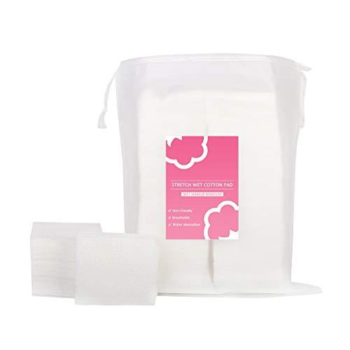 FBGood Tampons Démaquillants - Tampons en Coton, Tampons en Coton Biologique, Tampons pour Le Visage, Rondes en Coton pour Le Visage, Démaquillage Naturel sans Cruauté et Soins Personnels