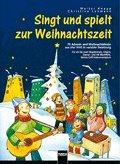 Zingt en speelt naar de kersttijd – gearrangeerd voor zang (1 - 2 stemmen) – gitaar – sopraanblokfluit – oude blokfluit – orff-instrumenten [noten/sheetmusic].