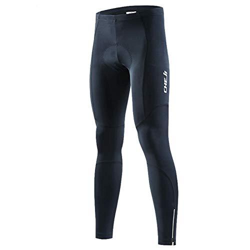YFFS Hombre Pantalones Pantalones Pantalones De Bicicleta Pantalones Mallas Leggings con Alta Densidad Alta Elasticidad 3D Esponja Acolchada (S)