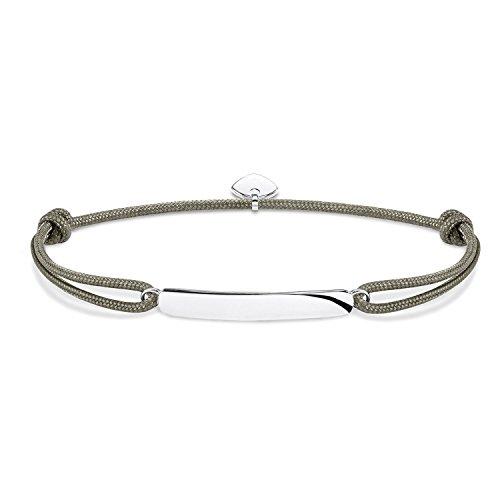 Thomas Sabo Men Silver ID Bracelet - LS057-173-5-L22v