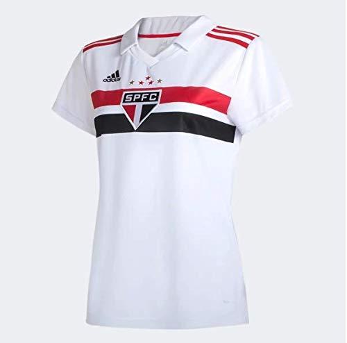 Camisa São Paulo Feminina Adidas I 2019/20 DZ5633 (PP)