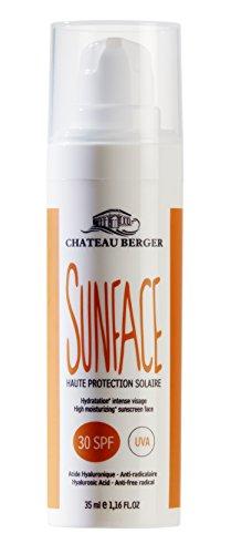 CHÂTEAU BERGER COSMETIQUES Sunface Crème Solaire pour Visage SPF 30