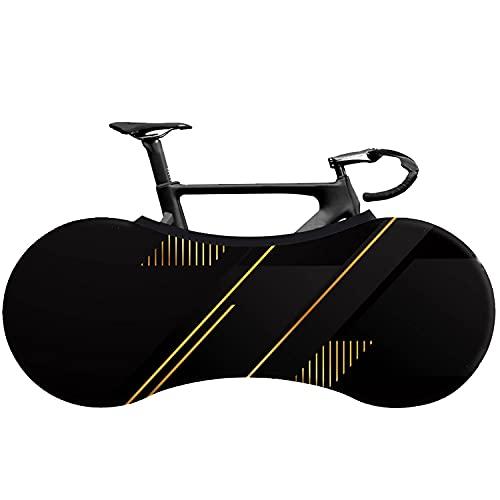 JINYOMFLY Fahrradabdeckung,Fahrrad Schutzhülle Fahrradschutzhülle Abdeckung Schutzausrüstung,Staubgeschützte Aufbewahrungstasche für Fahrrad Mountainbike Waschbare für Drinnen und Draußen (Schwarz 3)