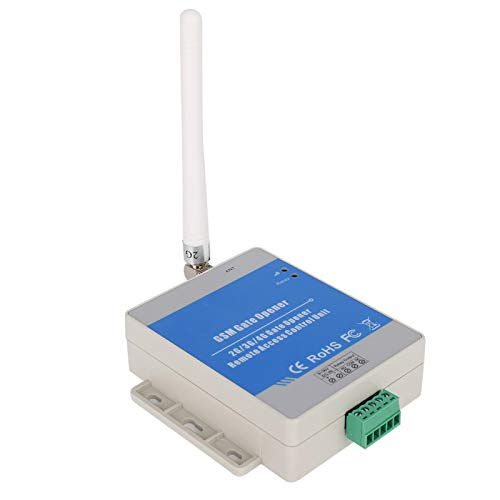 Dc 9 - Abridor de puerta de 24 V, interruptor de relé automático a prueba de agua, controlador de acceso remoto, SMS configurado de forma remota, Gsm / 2G, protección Ip30, 850/900/1800/1900 M