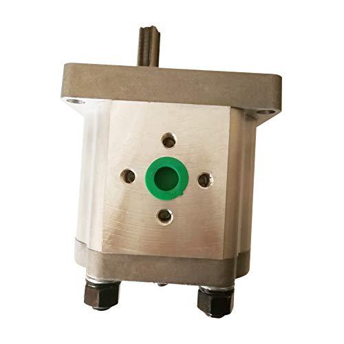 Serie CBN Bomba hidráulica de engranajes CBN-F312-FHR CBN-F314-FHR CBN-F316-FHR Rectángulo de cuatro dientes Spline Bomba de aceite de aleación de aluminio de alta presión para piezas de tractores (CBN-F316-FHR)