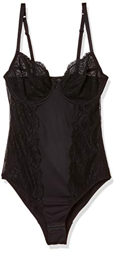 Palmers Damen Ornamental Lace Formender Body, Schwarz (Schwarz 900), 90B