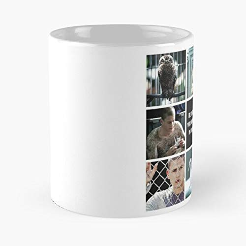 Aesthetic Michael Scofield Classic Mug -11 Oz Coffee - Funny Sophisticated Design Great Gifts White-situen.