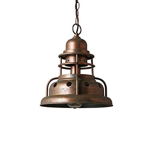 Industriële antieke hanglamp rustieke plafondlamp roestbruin kroonluchter ijzer hanglamp voor eettafellamp woonkamerlamp