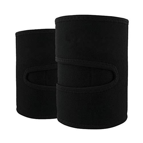 HEALLILY 2 Stücke Kompression Oberschenkelbandage Armbandage Neopren Oberschenkel Sportbandage Damen Arm Former für Männer Bodybuilding Gewichtheben Fitness Sport Training
