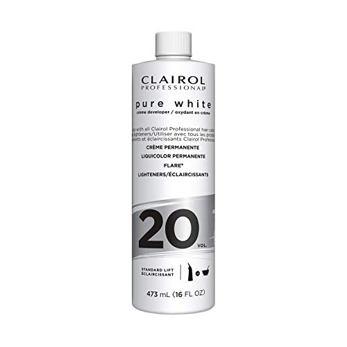 Clairol Professional Pure White Hair Developers for Lightening