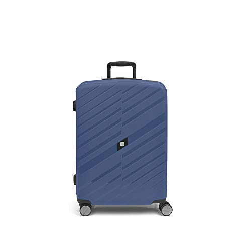 Gabol - Sendai | Medium Hard Travel Suitcases 45 x 67 x 27 cm with Capacity for 60 litres Blue Stewardess