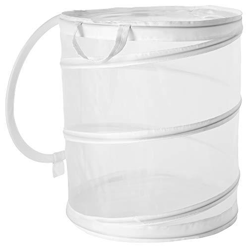 IKEA/イケア FYLLEN:ランドリーバスケット79 L ホワイト (004.080.18)