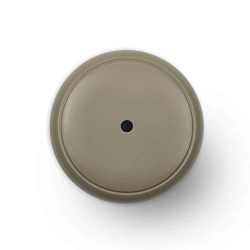 Diffusore di aromi Turbionaire Puck, 7 luci LED intercambiabili, 5 W, Silenzioso, Portatile, Possibilità di alimentazione con USB, Arresto automatico (Stone)