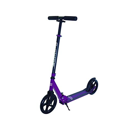 OLSSON - Patinete HOPP 200mm ABEC 9, Morado Giro 360º, Plegable