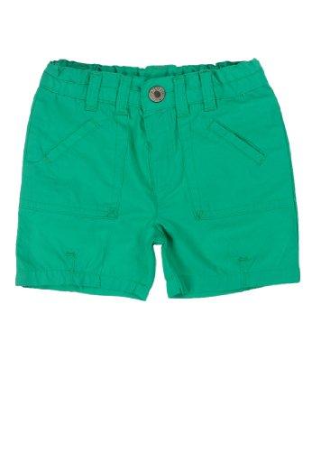 Steiff - Shorts 6433725 - Short Bébé garçon - Vert (golf green|green 5132) - FR : 5 ans (Taille fabricant : 110)