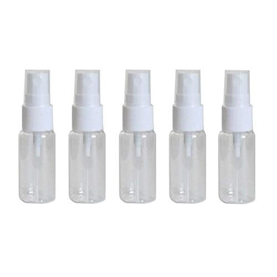 独立ハドル楽なhappy fountain スプレーボトル 15ml 5本セット プラスチック容器 アトマイザー